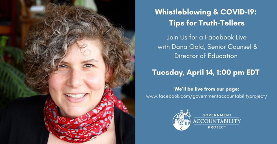 Whistleblowing & Covid-19: Tips for Truth-Tellers